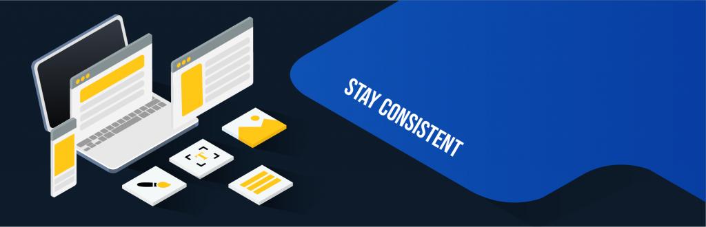 digital magazine layout: stay consistent