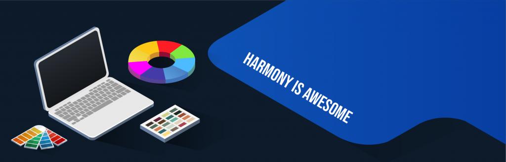 digital magazine layout: harmony is awesome